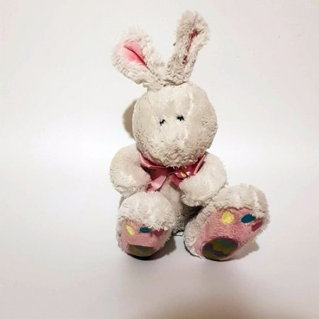Happy Easter, plüss nyuszi