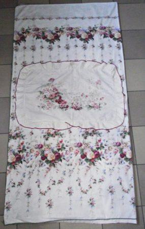 Virágos, ágynemű szett