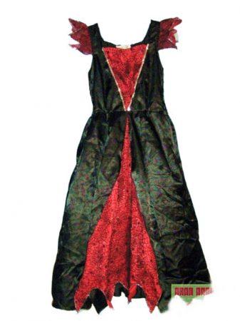 Boszorkány jelmez 7-8 év