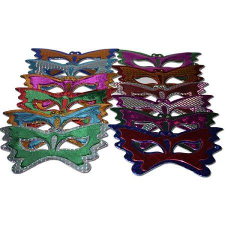 Pillangó alakú, hologramos papír szemüveg- Új termék!