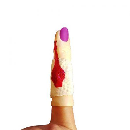 Véres ujj