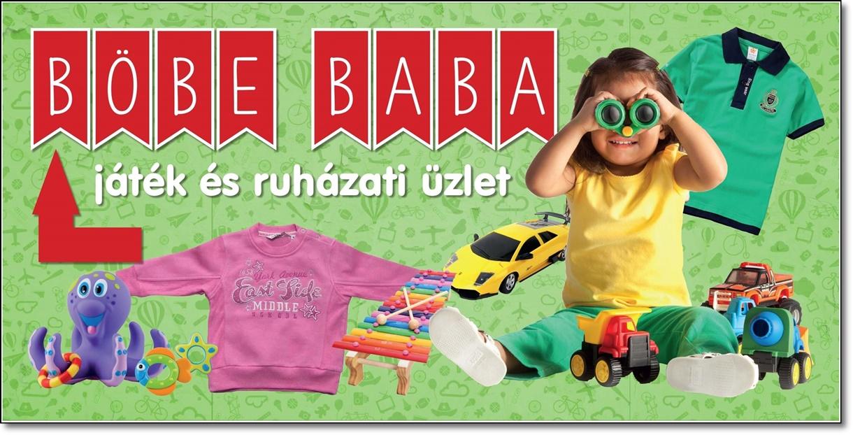 Böbe baba játék és ruházati üzletben,személyes átvétel.